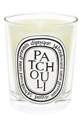 Мужская свеча patchouli DIPTYQUE бесцветного цвета, арт. 3700431404602 | Фото 1