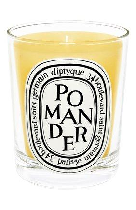 Мужская свеча pomander DIPTYQUE бесцветного цвета, арт. 3700431404305 | Фото 1