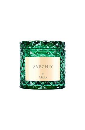 Свеча аромат svezhiy TONKA PERFUMES MOSCOW бесцветного цвета, арт. 4665304431163 | Фото 1