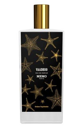 Женский парфюмерная вода vaadhoo MEMO бесцветного цвета, арт. 3700458601121 | Фото 1