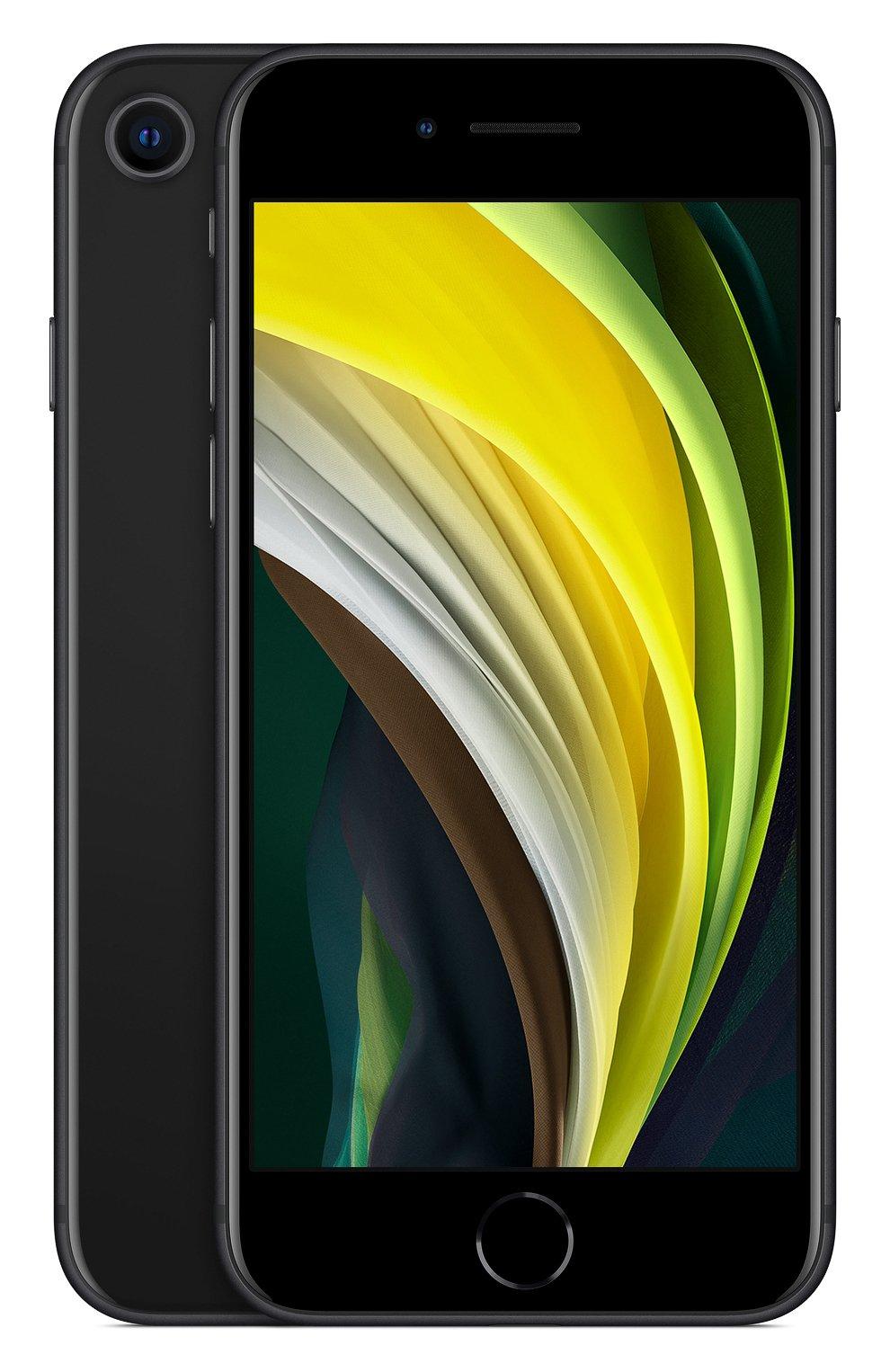 Мужской iphone se (2020) 128gb black APPLE  black цвета, арт. MXD02RU/A | Фото 1