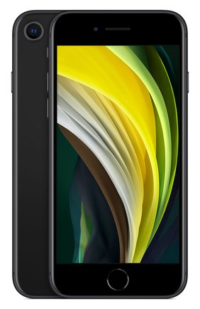 Мужской iphone se (2020) 128gb black APPLE black цвета, арт. MXD02RU/A | Фото 1