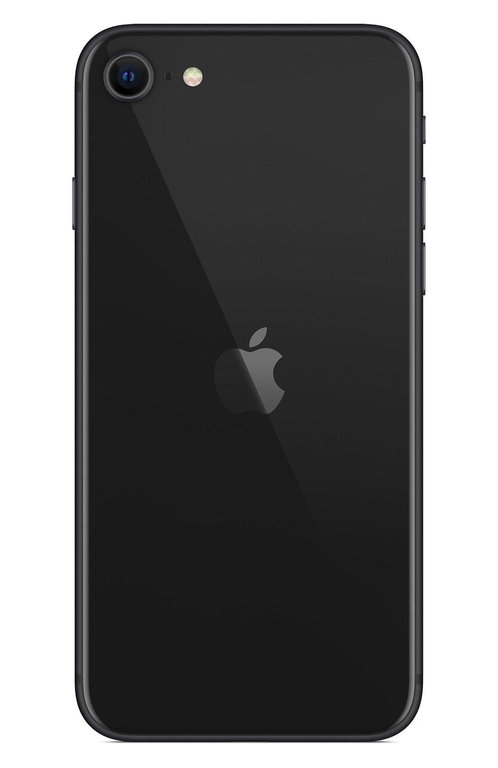Мужской iphone se (2020) 128gb black APPLE  black цвета, арт. MXD02RU/A | Фото 2