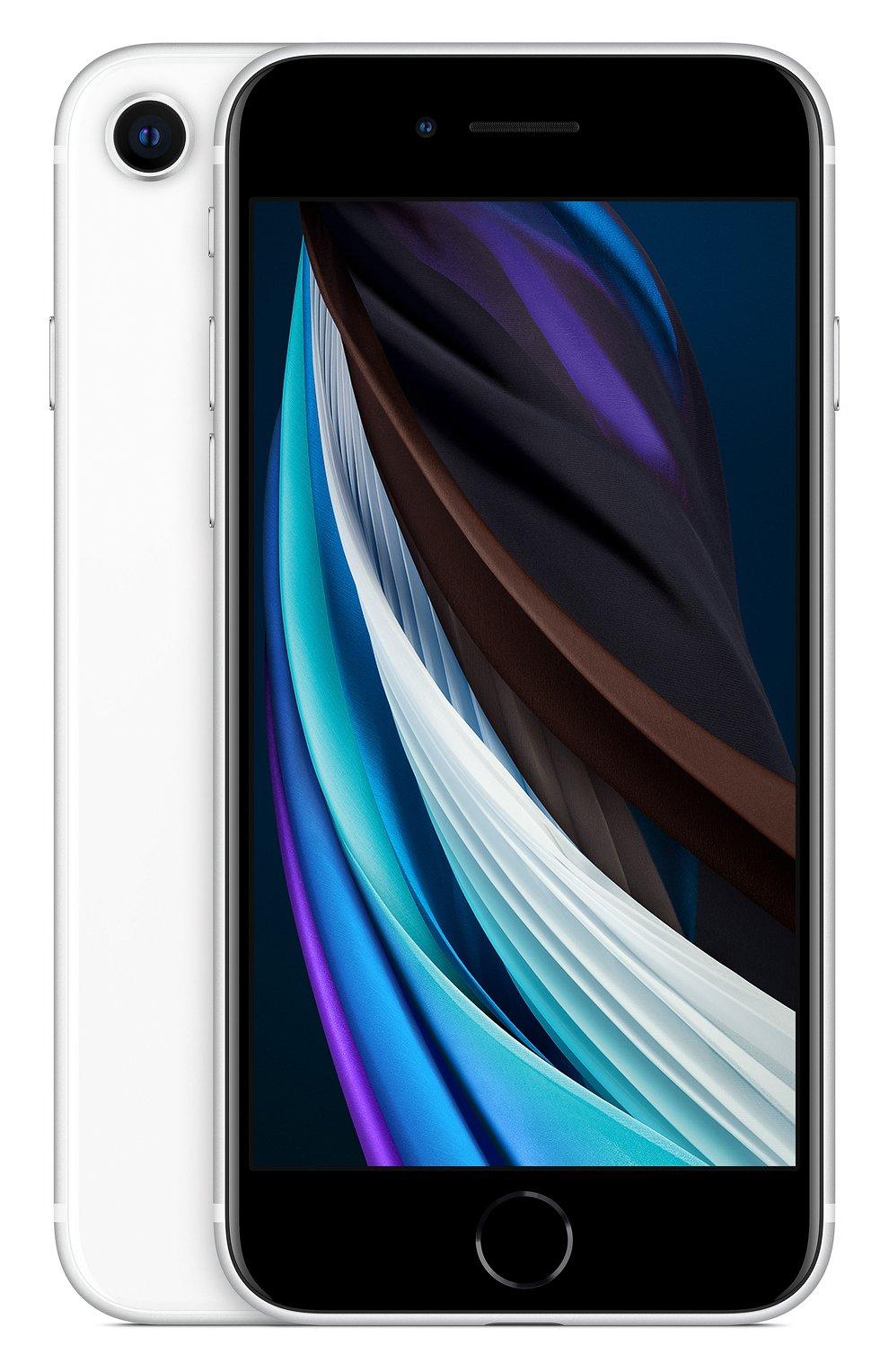 Мужской iphone se (2020) 128gb white APPLE  white цвета, арт. MXD12RU/A | Фото 1
