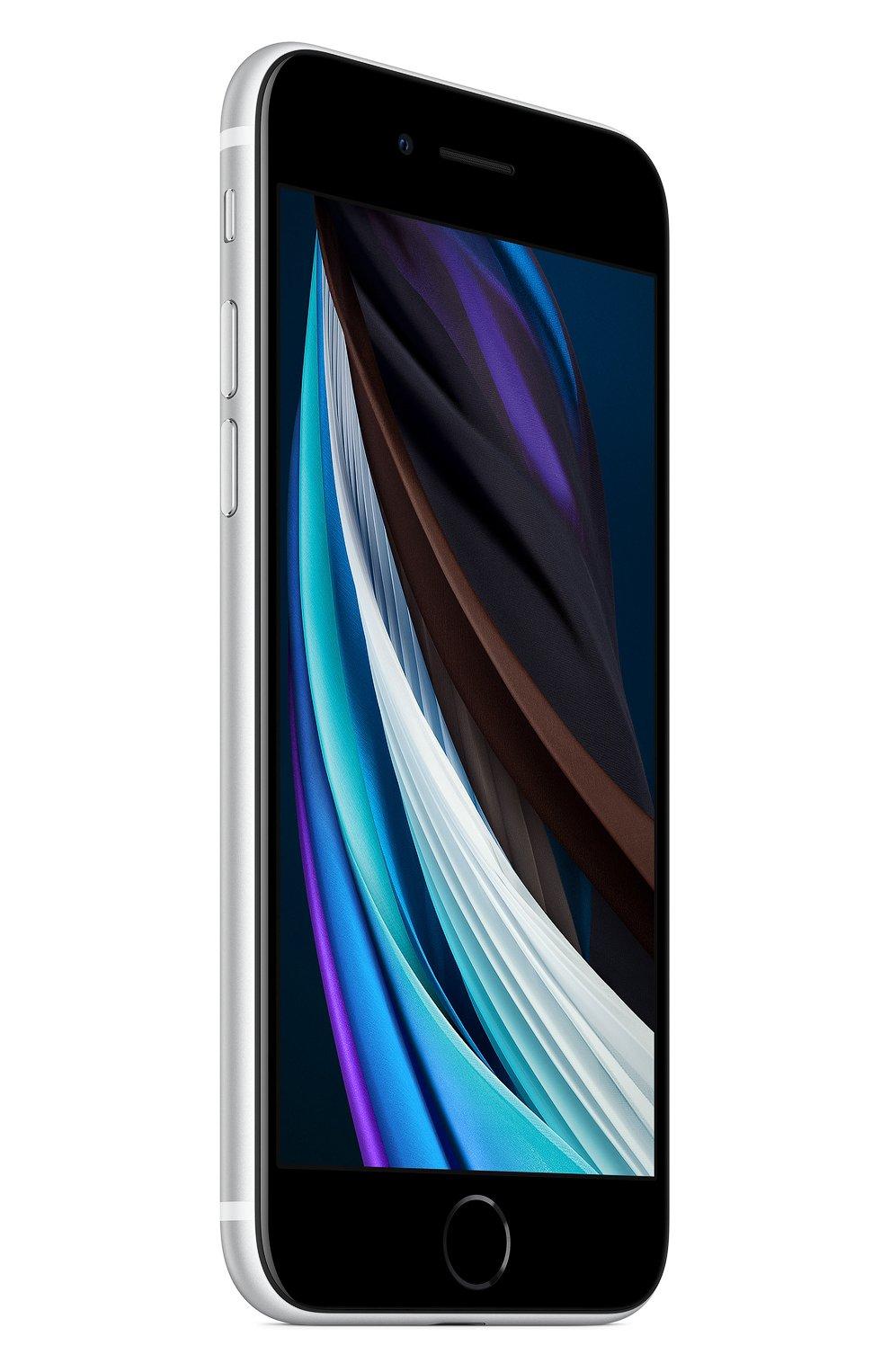 Мужской iphone se (2020) 128gb white APPLE  white цвета, арт. MXD12RU/A | Фото 3