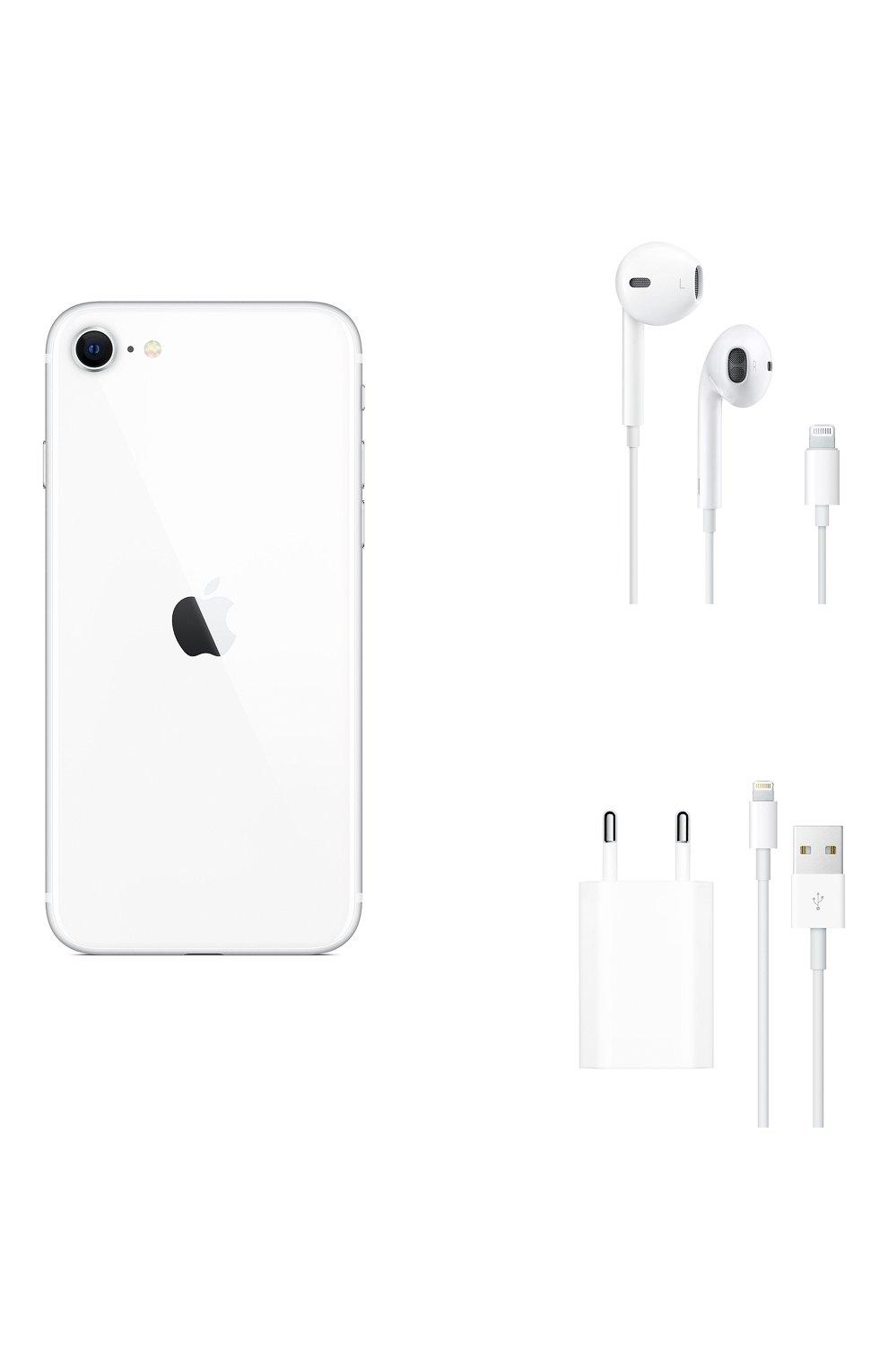 Мужской iphone se (2020) 128gb white APPLE  white цвета, арт. MXD12RU/A | Фото 6