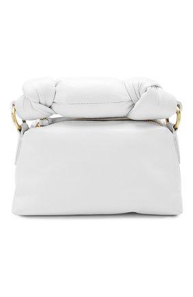 Женская сумка DRIES VAN NOTEN белого цвета, арт. 201-11500-160 | Фото 1