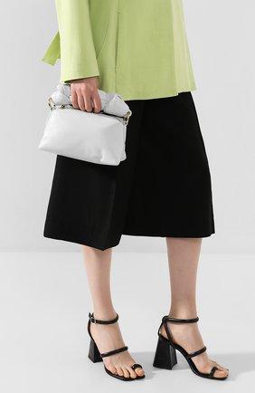 Женская сумка DRIES VAN NOTEN белого цвета, арт. 201-11500-160 | Фото 2