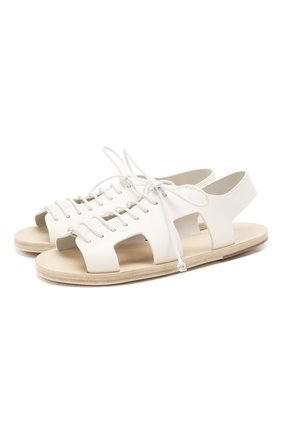 Женские кожаные сандалии MARSELL белого цвета, арт. MW5875/PELLE V0L0NATA | Фото 1