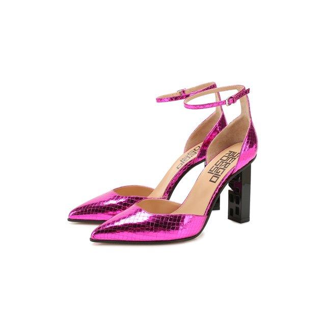 Кожаные туфли Super Heel Sergio Rossi