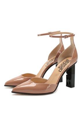 Женская кожаные туфли super heel SERGIO ROSSI светло-розового цвета, арт. A89930-MVIV01 | Фото 1