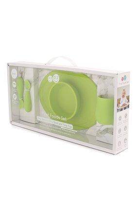 Детского набор из 4-х предметов EZPZ зеленого цвета, арт. PCFFG001 | Фото 2