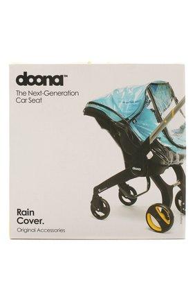 Детская дождевик для коляски doona SIMPLE PARENTING прозрачного цвета, арт. SP108-99-001-099 | Фото 1