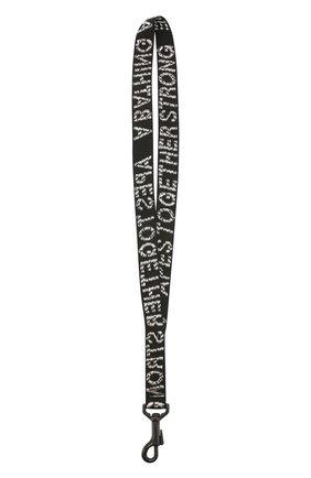 Мужской текстильный брелок BAPE черного цвета, арт. 1G20182060 | Фото 2