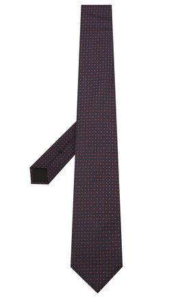 Мужской шелковый галстук BOSS красного цвета, арт. 50434394 | Фото 2