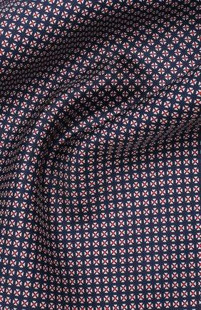 Мужской шелковый платок BOSS темно-синего цвета, арт. 50434750 | Фото 2