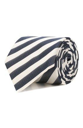 Мужской шелковый галстук BOSS синего цвета, арт. 50434723 | Фото 1