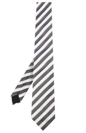 Мужской шелковый галстук BOSS синего цвета, арт. 50434723 | Фото 2