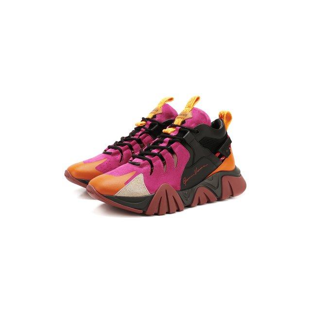 Комбинированные кроссовки Squalo Hiker Versace — Комбинированные кроссовки Squalo Hiker