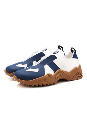 Мужские текстильные кроссовки replica MAISON MARGIELA синего цвета, арт. S37WS0501/P3266 | Фото 1