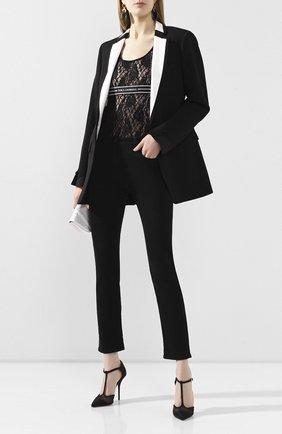 Женская топ DOLCE & GABBANA черного цвета, арт. F74F6T/FLMPS | Фото 2