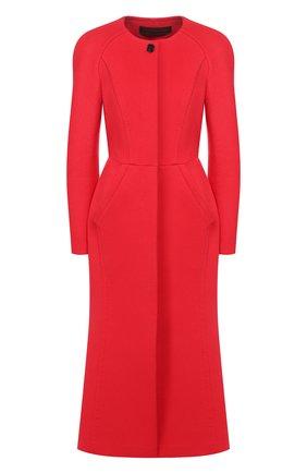 Женское пальто ULYANA SERGEENKO красного цвета, арт. CPT001FW17P (1310т17) | Фото 1