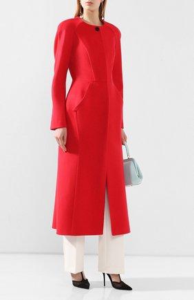 Женское пальто ULYANA SERGEENKO красного цвета, арт. CPT001FW17P (1310т17) | Фото 2