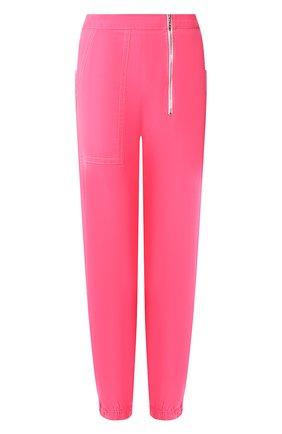 Женские хлопковые джоггеры MARC JACOBS (THE) розового цвета, арт. V4000016 | Фото 1