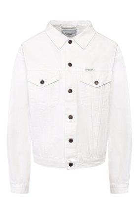 Женская джинсовая куртка FORTE DEI MARMI COUTURE белого цвета, арт. 20SF5354-03 | Фото 1