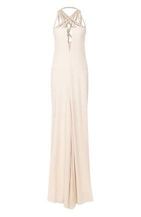 Женское платье-макси RICK OWENS белого цвета, арт. R020S1552/CCTEW3   Фото 1
