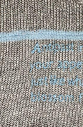 Женские льняные подследники ANTIPAST серого цвета, арт. HA-9AS | Фото 2