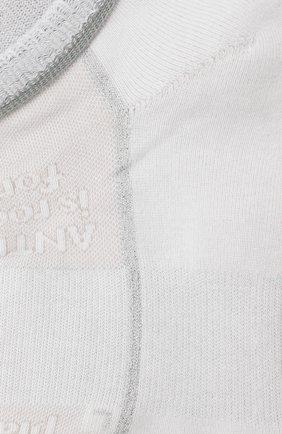 Женские хлопковые носки ANTIPAST белого цвета, арт. KT-148S | Фото 2