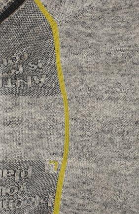 Женские хлопковые носки ANTIPAST серого цвета, арт. KT-148S | Фото 2