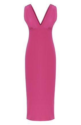 Женское шелковое платье IRO фуксия цвета, арт. WM33M0RPHEE | Фото 1