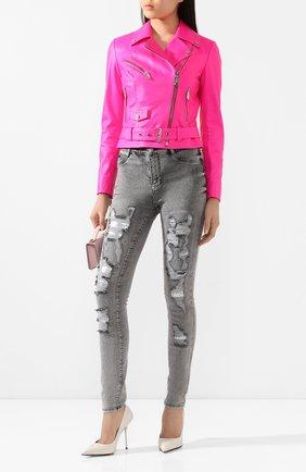 Женские джинсы PHILIPP PLEIN серого цвета, арт. P20C WDT1355 PDE004N | Фото 2