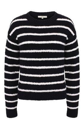 Женский хлопковый пуловер VINCE черно-белого цвета, арт. V656278411 | Фото 1