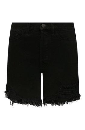 Женские джинсовые шорты 3X1 черного цвета, арт. WSX4S0866/TR0Y | Фото 1