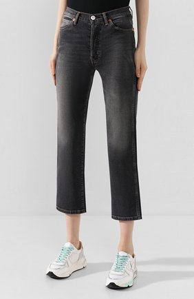 Женские джинсы 3X1 серого цвета, арт. WP0270966/TRAVIS | Фото 3
