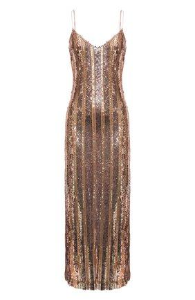 Женское платье с пайетками GALVAN LONDON розового цвета, арт. 120SEDR002303 | Фото 1