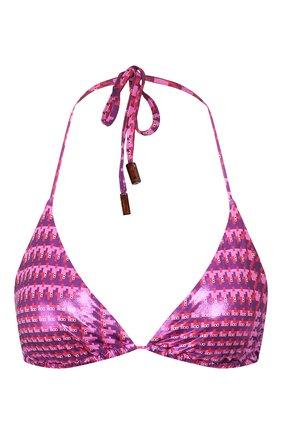 Женский треугольный бра VILEBREQUIN розового цвета, арт. FLEU0H45 | Фото 1