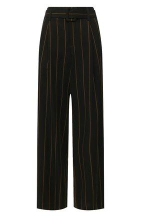 Женские брюки из вискозы VINCE черного цвета, арт. V654021776 | Фото 1