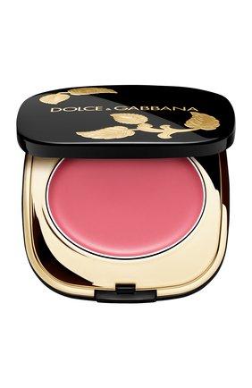 Женские кремовые румяна dolce blush, оттенок 30 provocative DOLCE & GABBANA бесцветного цвета, арт. 8757950DG | Фото 1