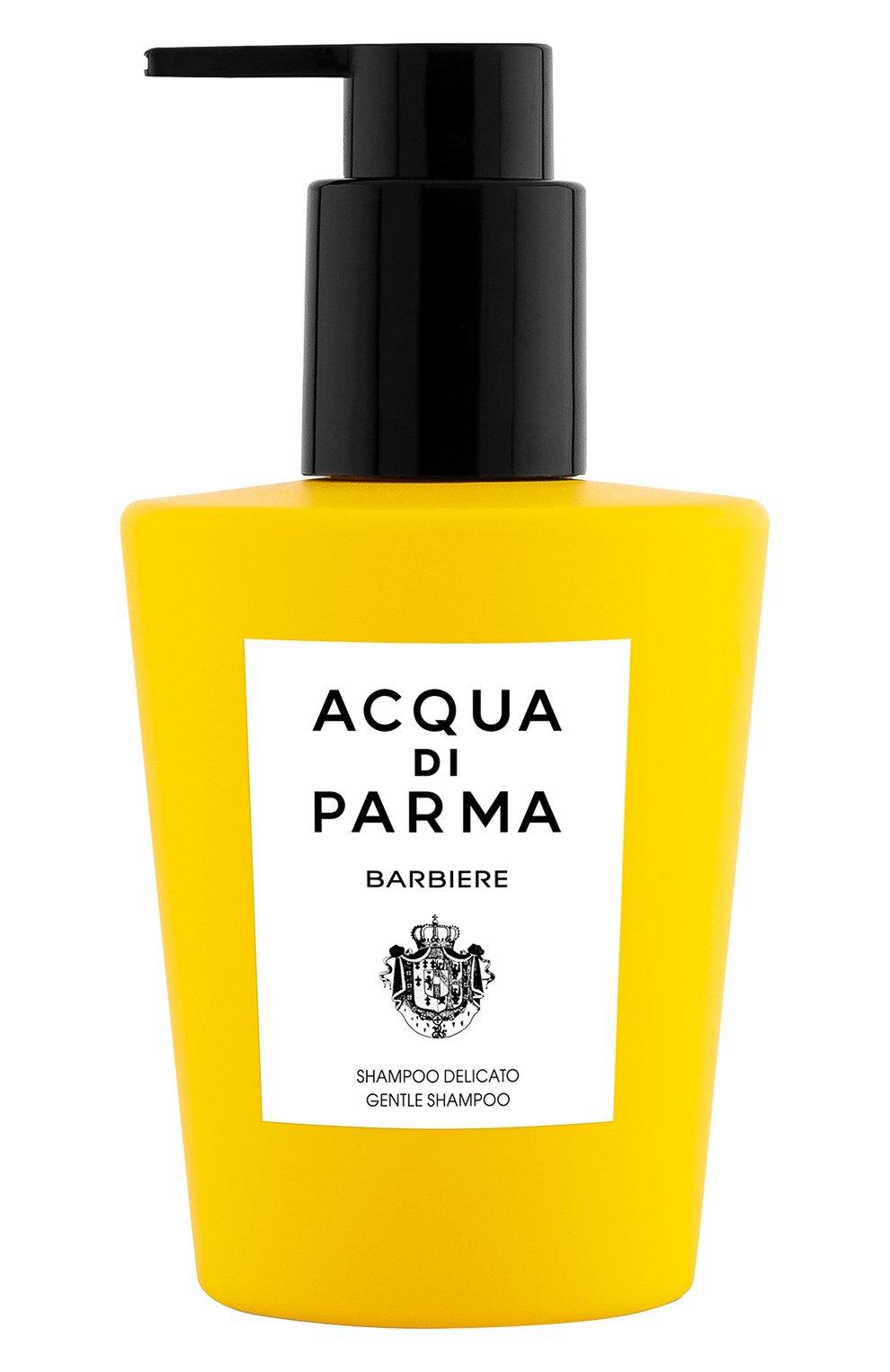 Мужского мягкий шампунь для волос barbiere ACQUA DI PARMA бесцветного цвета, арт. 52032 | Фото 1