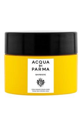 Мужского фиксирующий воск для волос с сильной фиксацией barbiere ACQUA DI PARMA бесцветного цвета, арт. 52037 | Фото 1