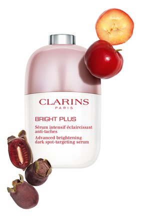 Женская сыворотка для сияния кожи и сокращения пигментации bright plus CLARINS бесцветного цвета, арт. 80056363 | Фото 2