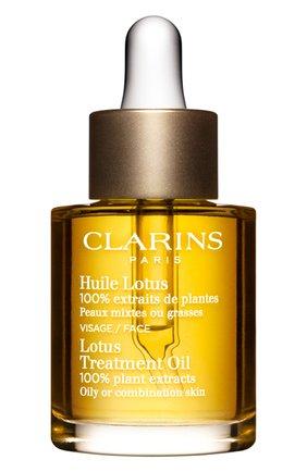 Женское масло для лица для комбинированной или жирной кожи CLARINS бесцветного цвета, арт. 80062042 | Фото 1