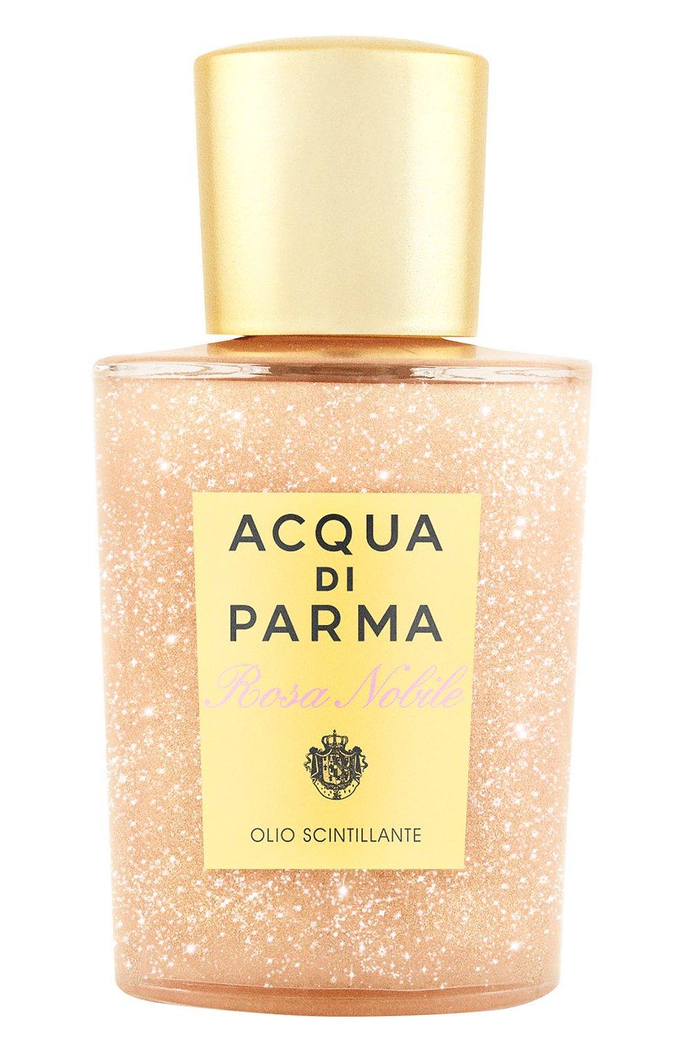 Мерцающее масло для тела rosa nobile ACQUA DI PARMA бесцветного цвета, арт. 49023ADP   Фото 1