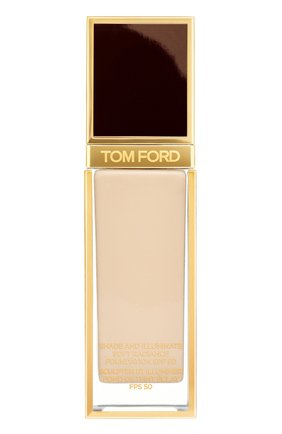 Женское тональная основа shade and illuminate spf50, оттенок 1.3 nude ivory TOM FORD бесцветного цвета, арт. T73C-05 | Фото 1
