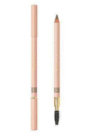 Женский карандаш для бровей crayon définition sourcils, оттенок 001 GUCCI бесцветного цвета, арт. 3614229944662 | Фото 1