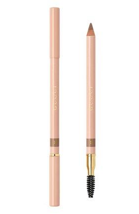Женский карандаш для бровей crayon définition sourcils, оттенок 002 GUCCI бесцветного цвета, арт. 3614229944686 | Фото 1